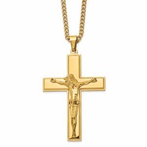 Crucifix 24in Necklace